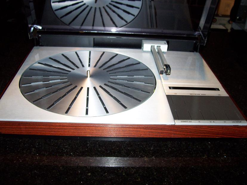 Bang & Olufsen Beogram4002 modified with Grado blue cartridge $850.00
