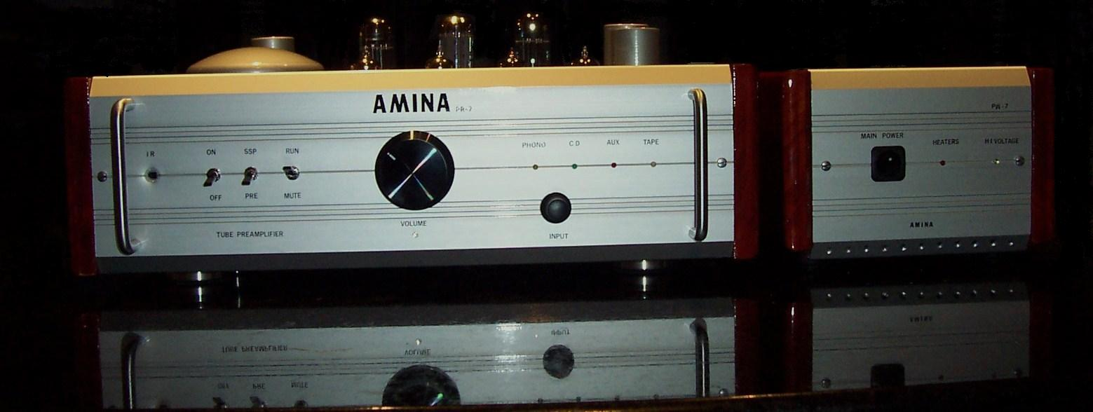 AMINA PR7 full tube preamp.
